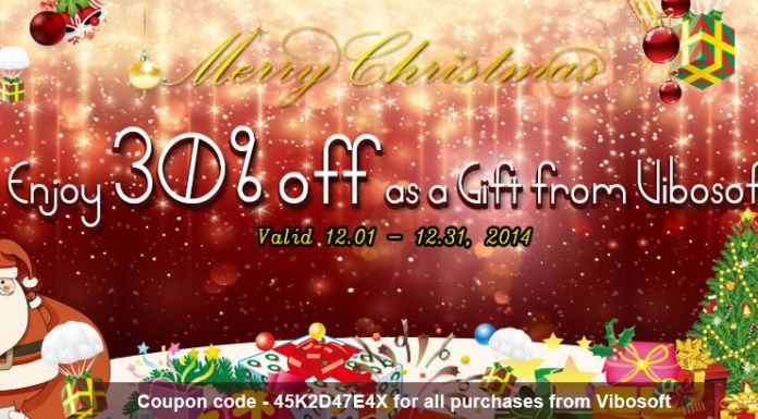 Vibosoft Christmas Offer