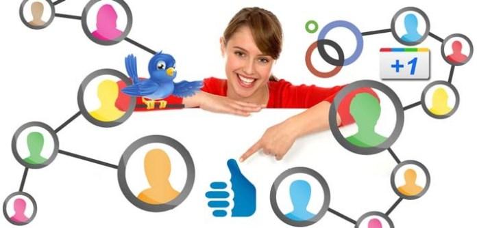 different social media
