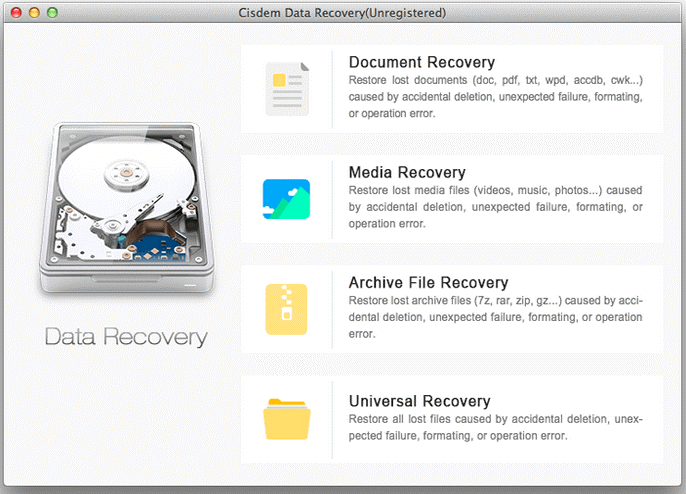Cisdem data recovery software