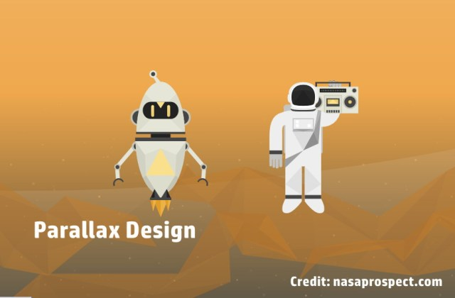 Parallax design nasaproject