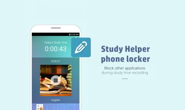 Study helper - Phone locker