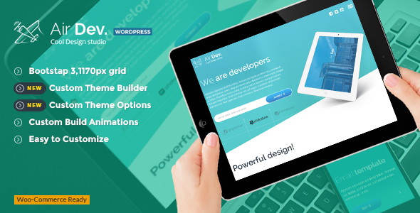 AirDev WordPress Theme