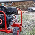 Portable generator vehicle