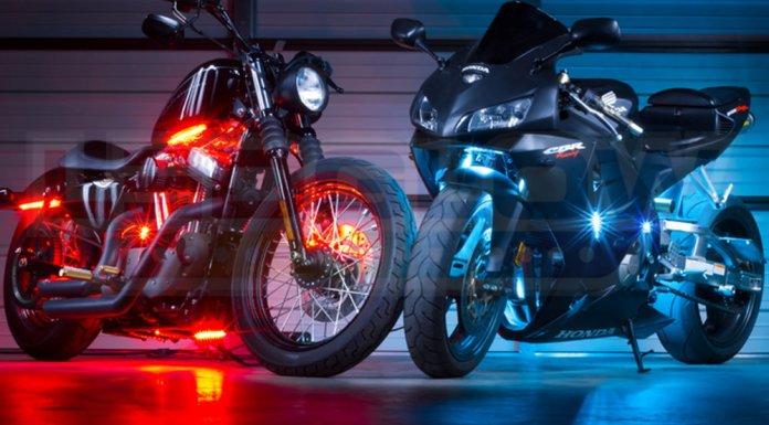 Light up vehicle using LED Lights