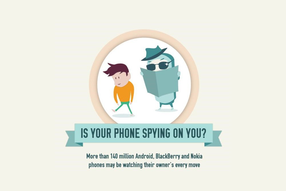 Smartphone spying apps