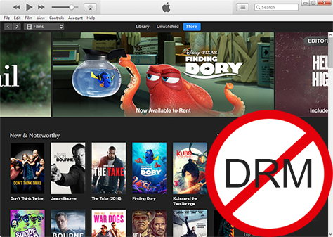 Remove DRM from itunes movies