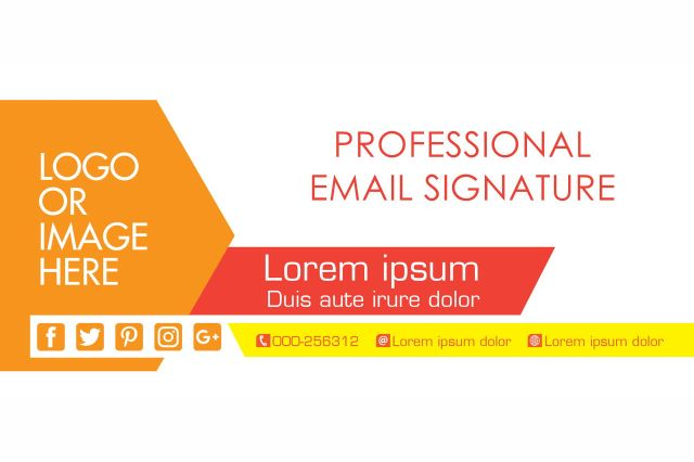 Professional Email Signature Gmail