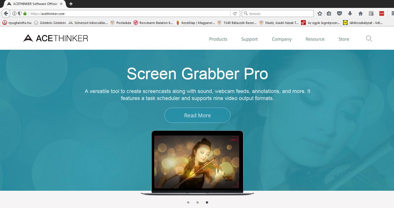 acethinker screen grabber pro 4