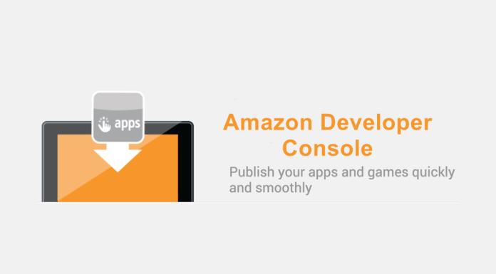 amazon developer console - publish your app