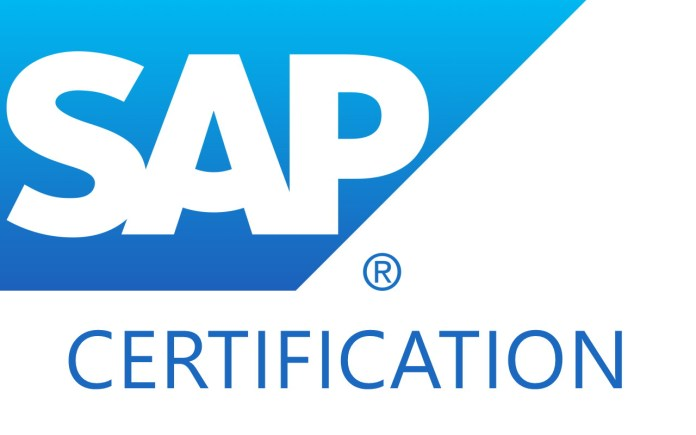 SAP certification exam tips