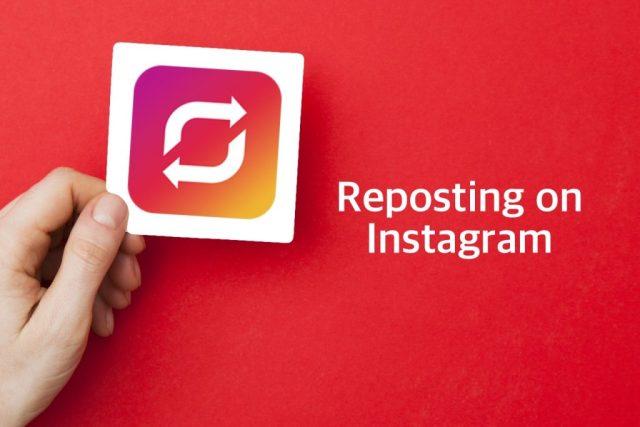 كيفية إعادة النشر على Instagram