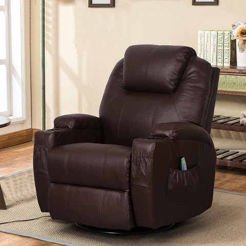 best recliner with lumbar support