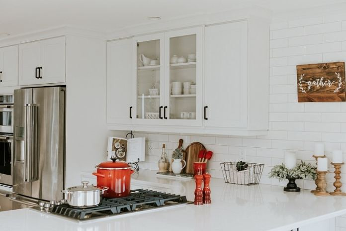steps to organize a kitchen
