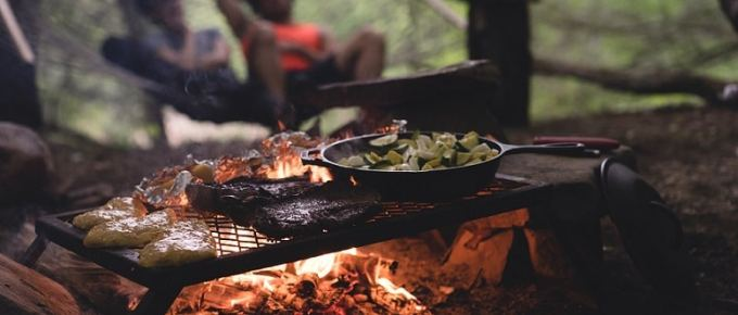 Ultimate camping grill for a perfect camping