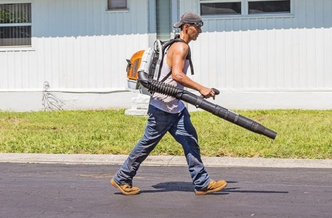 perfect gas powered leaf blowers