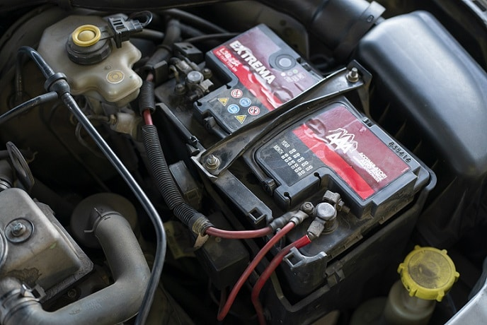 test car battery