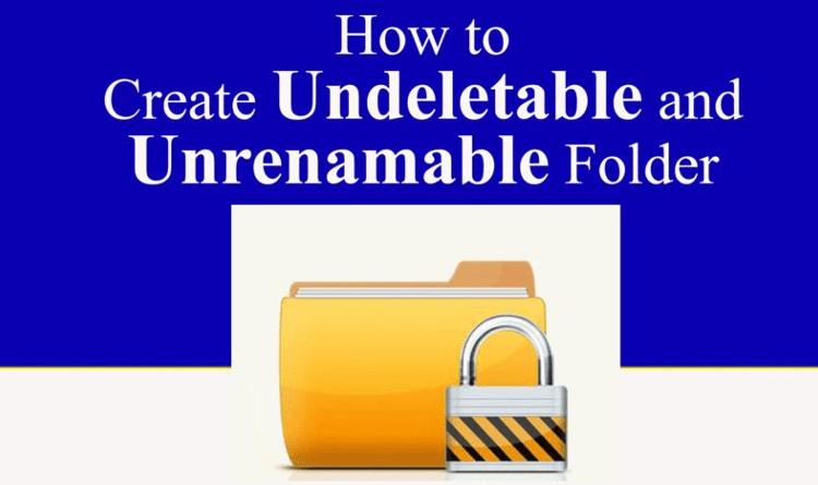 Undeletable