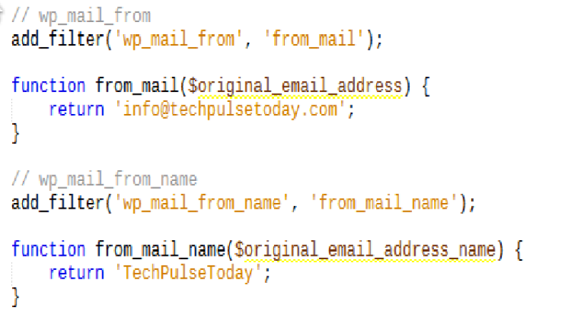 wp_mail_from