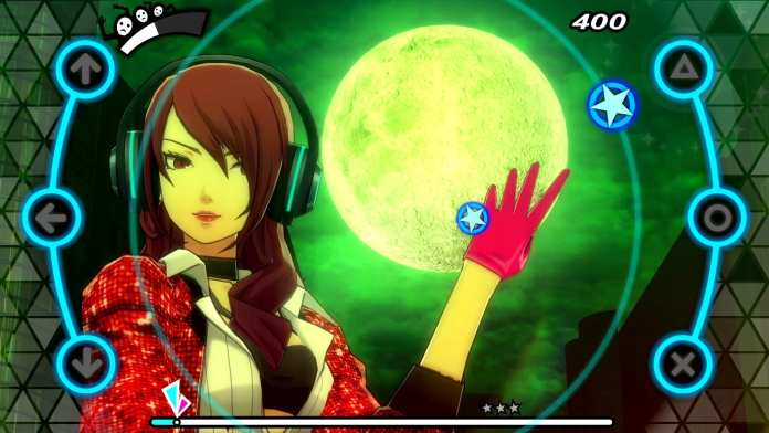Screenshot from Persona 3: Dancing Moon Night
