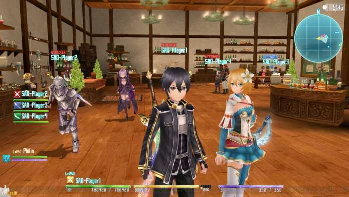 Screenshot from Sword Art Online Re: Hollow Fragment