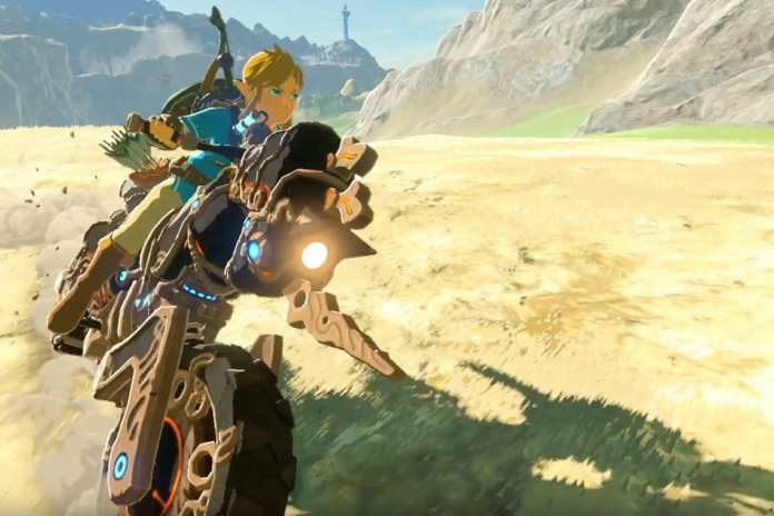 Screenshot from Breath of the Wild