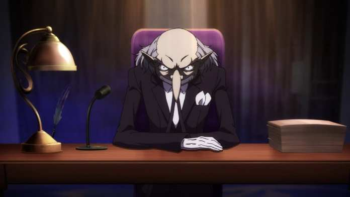 Screencap from Persona 5 the Animation