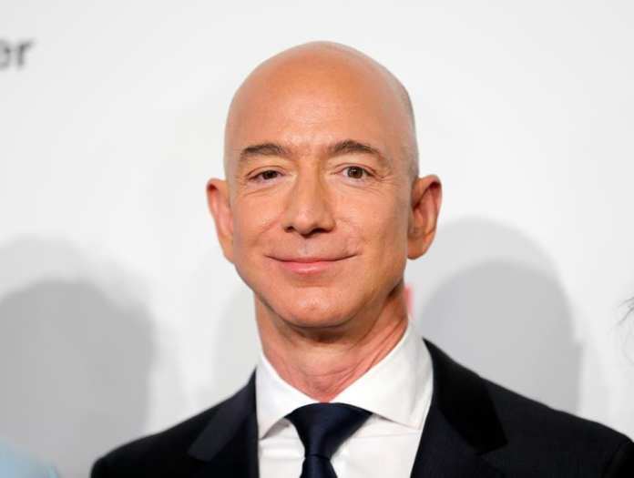 Jeff Bezos, the founder, chairman and CEO of Amazon.