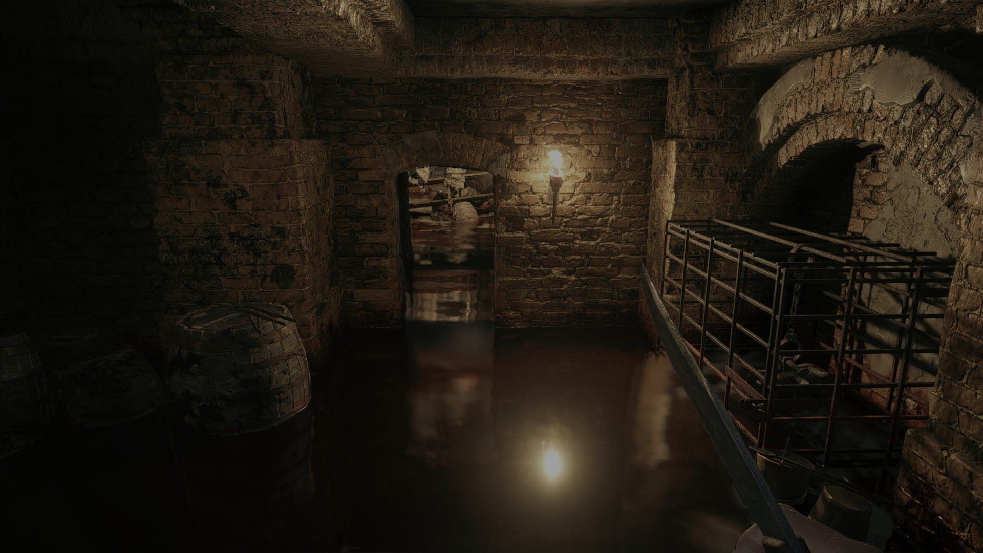 Resident Evil Village Water Ray Tracing OFF