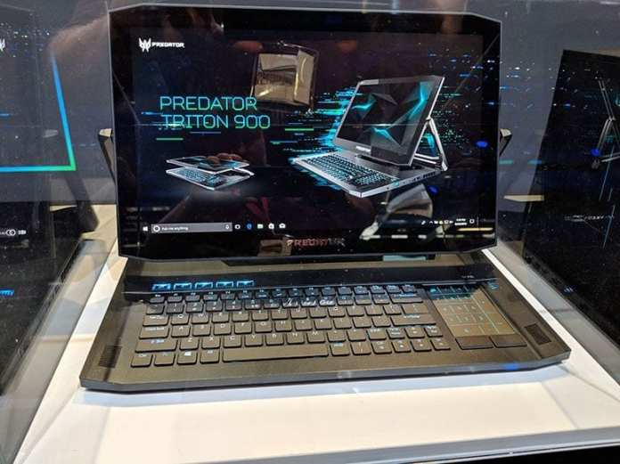Acer Triton 900: A 4K, 17-Inch Convertible Gaming Laptop