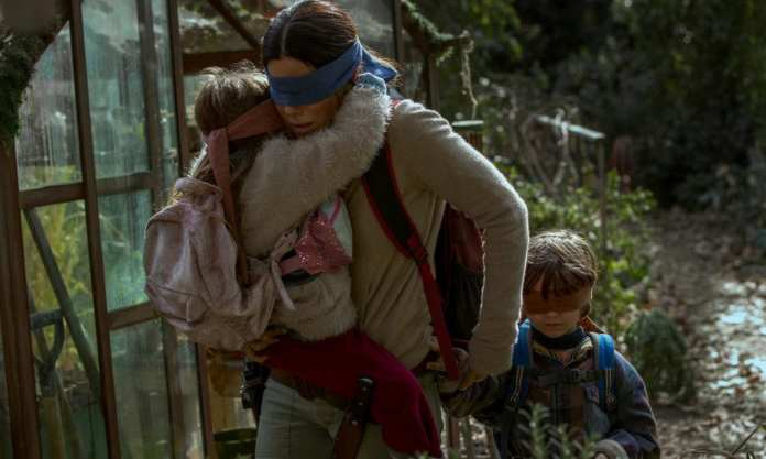 Bird Box - starring Sandra Bullock