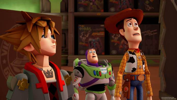 Toy Story in Kingdom Hearts 3