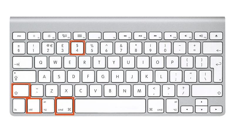 How to copy paste MacBook screen