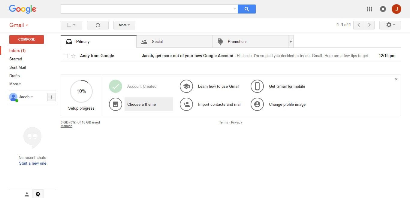 Gmail Inbox