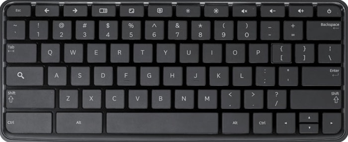 Google Chromebook Keyboard Layout