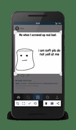 Screenshot Crop and Share 2