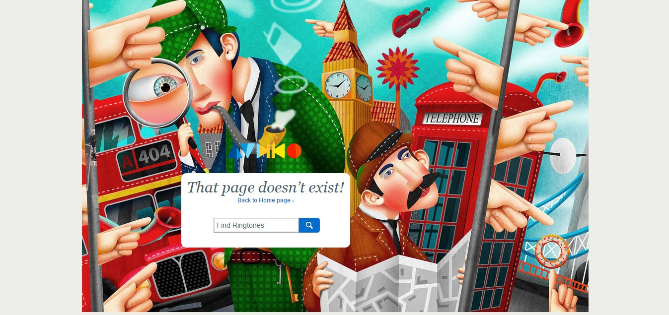 Audiko Error 404 Problem