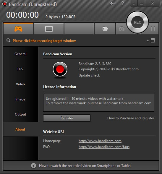 Bandicam Game Recording Software