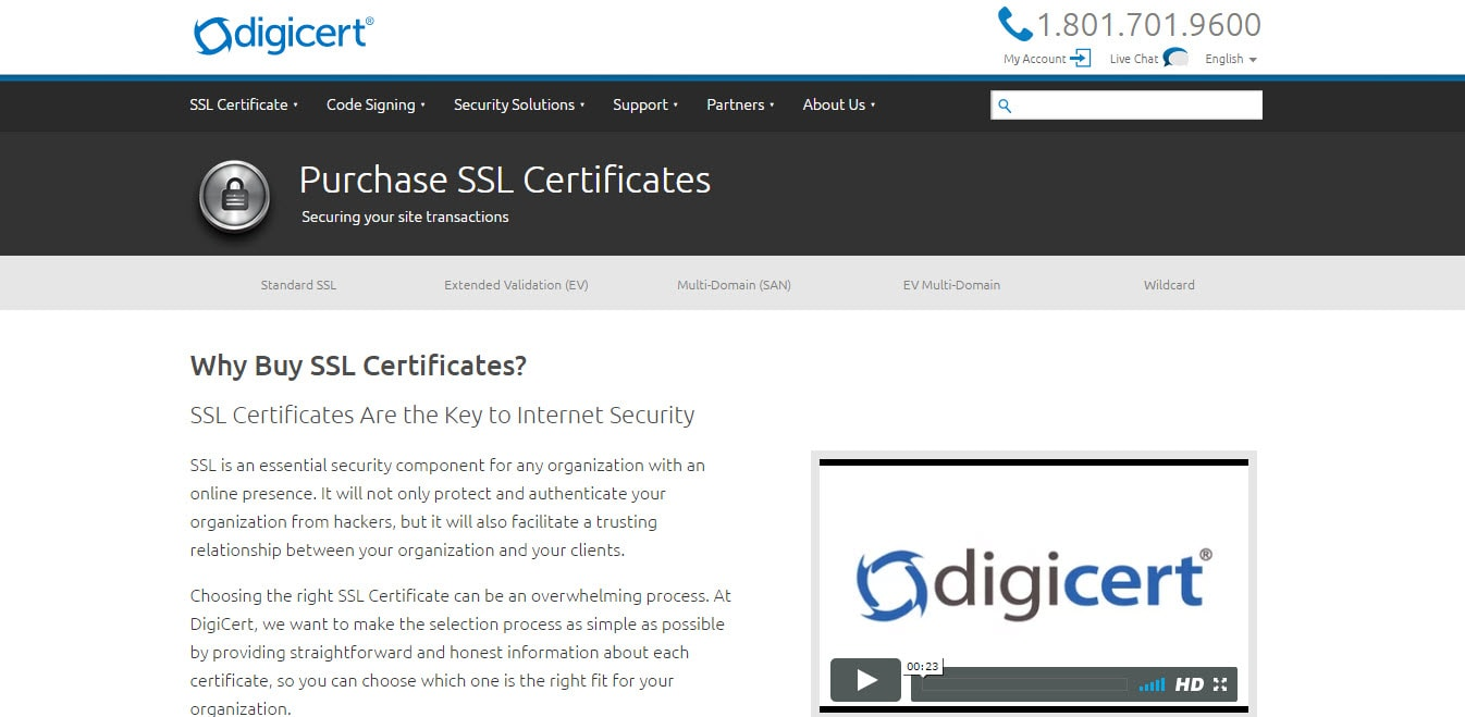 Best ssl certificate providers tech quintal digicert ssl certificates 1betcityfo Image collections