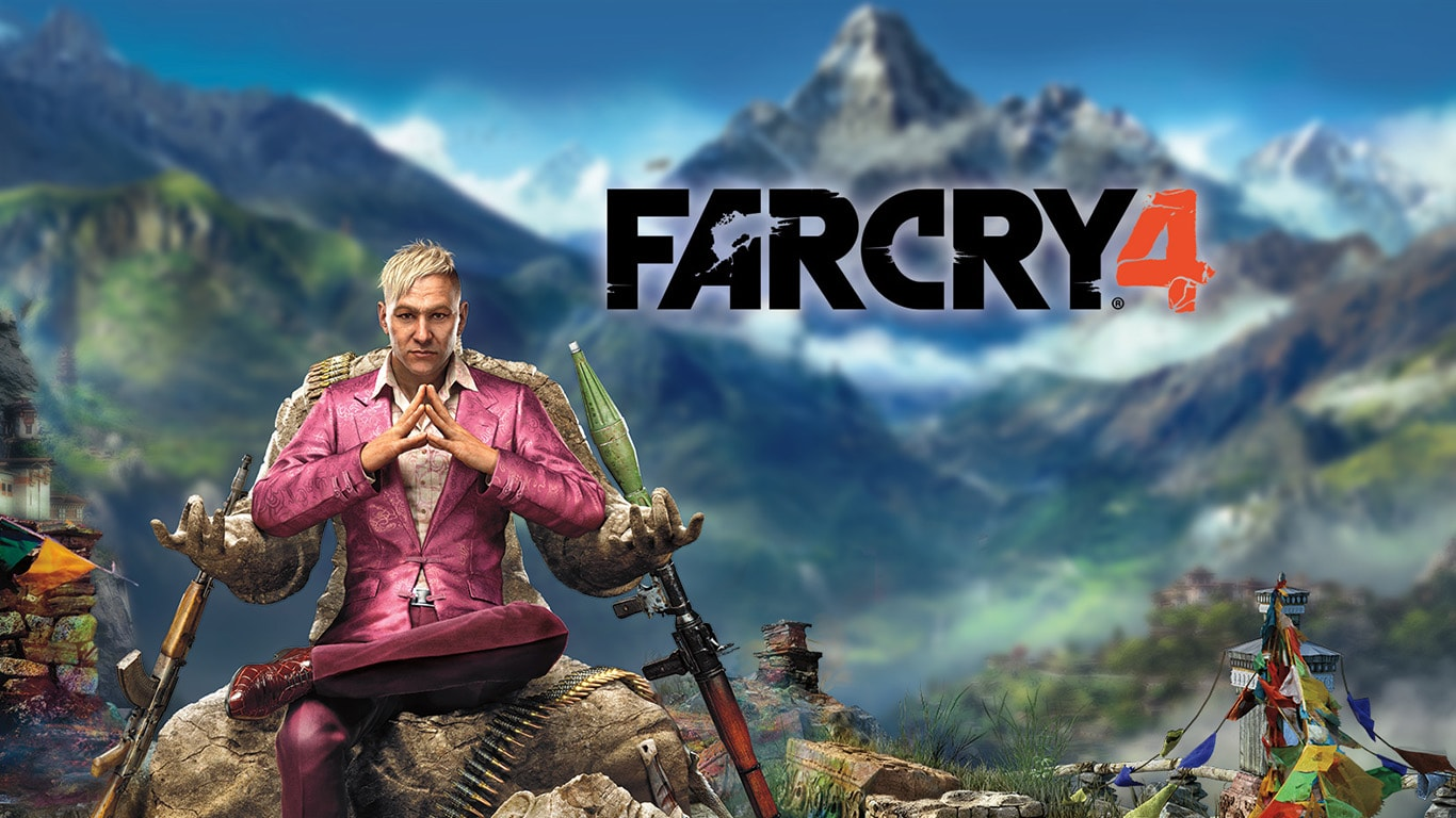 FarCry 4 First Person Shooting Game for PC