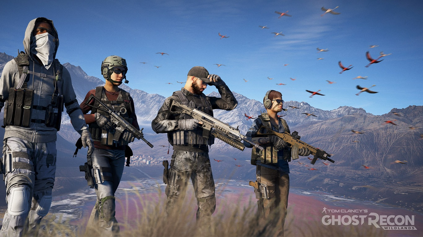 Ghost Recon Characters in Review