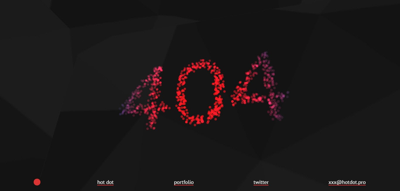 Hot Dot Production 404