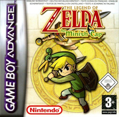 The Legend of Zelda - The Minish Cap GBA Game