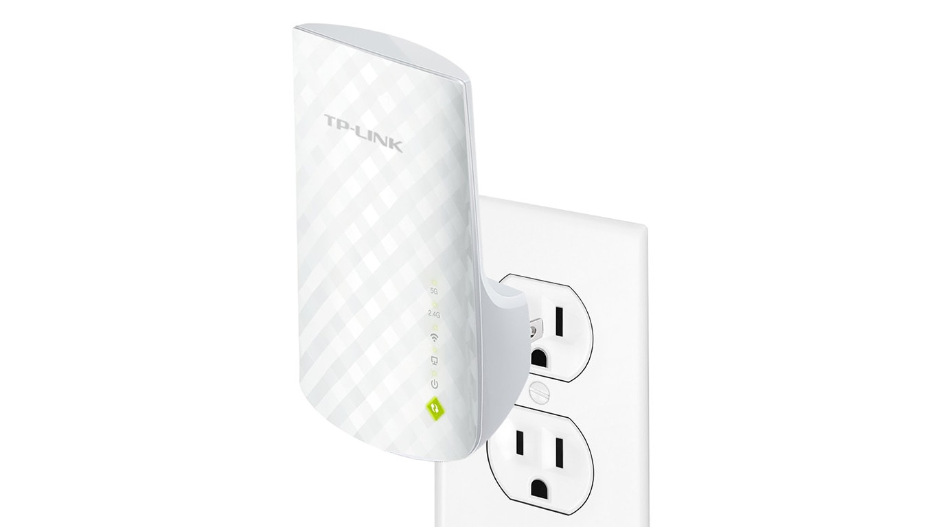 TP-Link RE200 AC750 Univeral Wireless Dual Band Range Extender