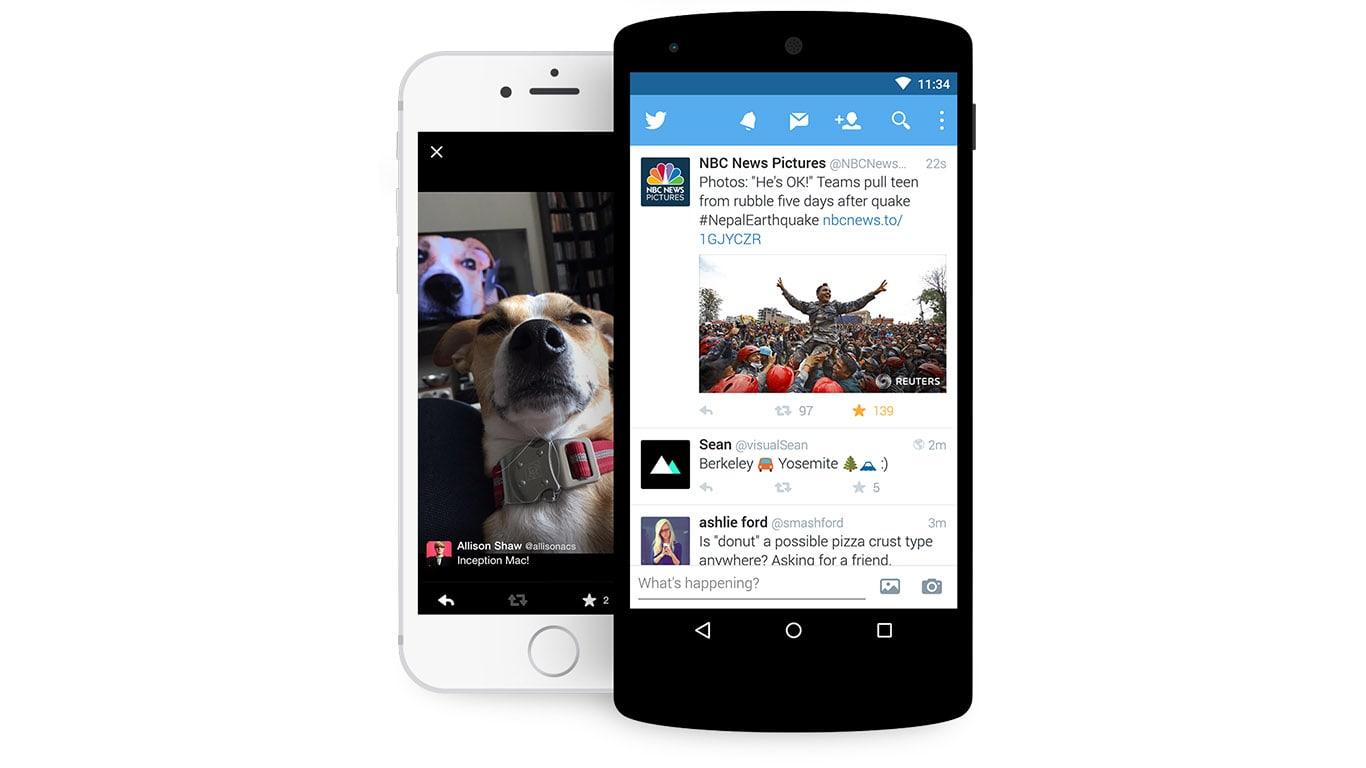 Twitter on Smartphones