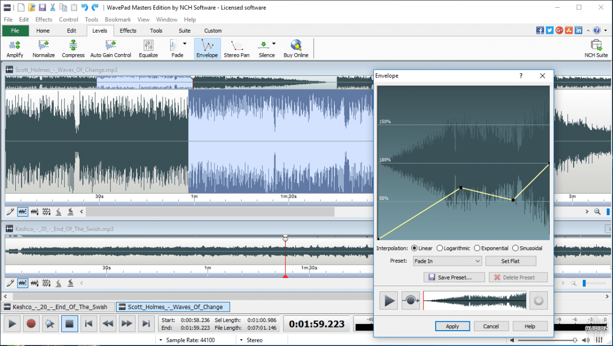 NCH Music Recording Software