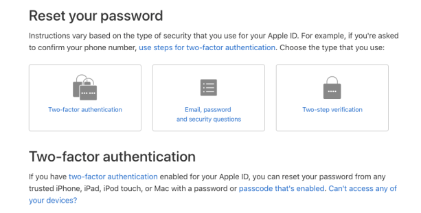 unlock apple id with existing password