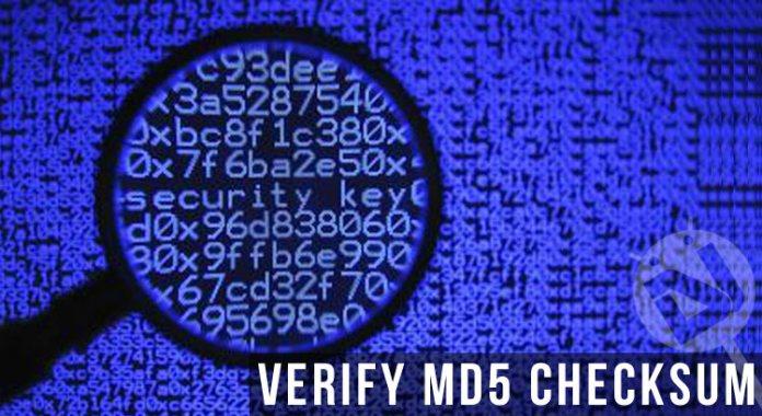 Verify & Check MD5 Sum on Windows / Mac / Linux - Techregister