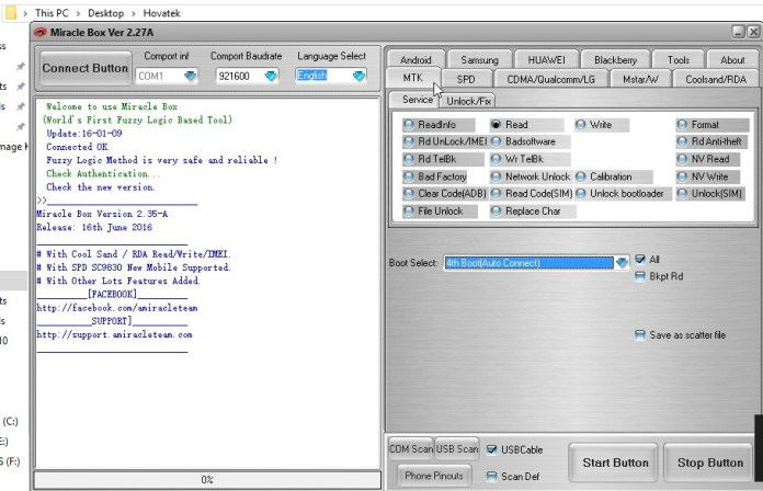 How to Flash Firmware Using Miracle Box on MediaTek and