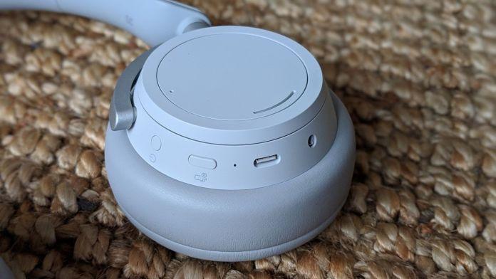 Surface Headphones ear cup dials