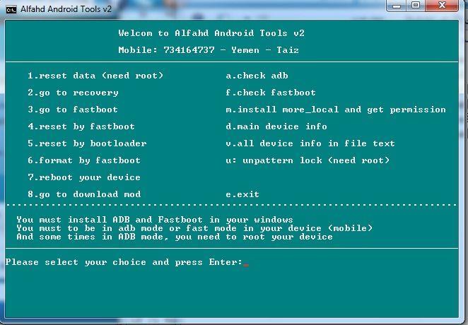 Alfahd Android Tools